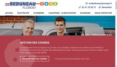 Site internet de EURL Beduneau