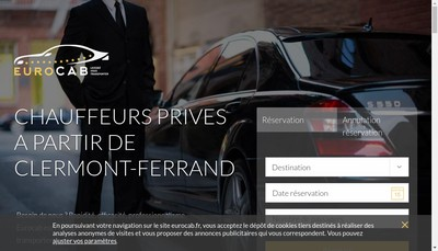 Site internet de Eurocab
