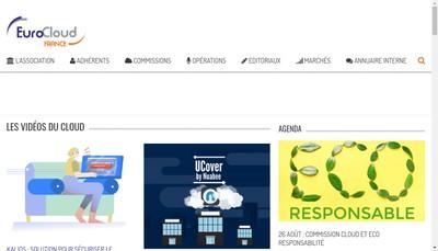 Site internet de Eurocloud France