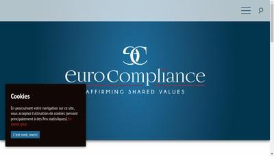 Site internet de Eurocompliance