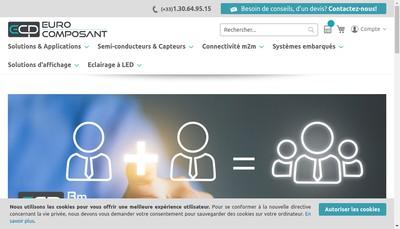 Site internet de Eurocomposant SA