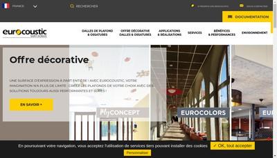 Site internet de Saint Gobain Eurocoustic