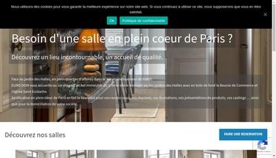 Site internet de Euro Dom