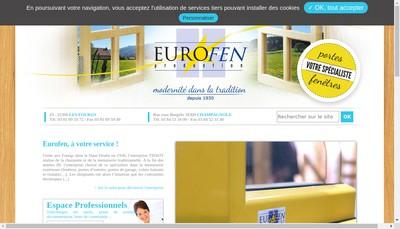 Site internet de Eurofen Production