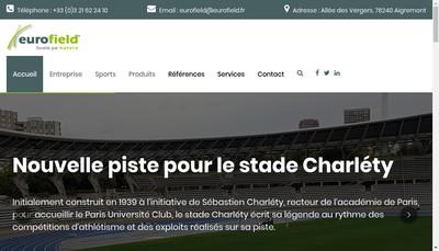 Site internet de Eurofield