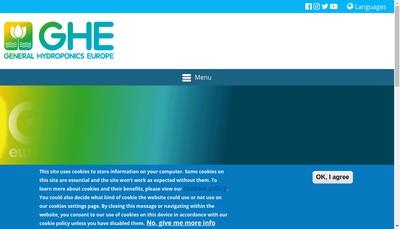 Site internet de GHE