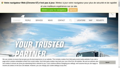 Site internet de EURL Eurojet