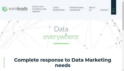 Site internet de Euroleads