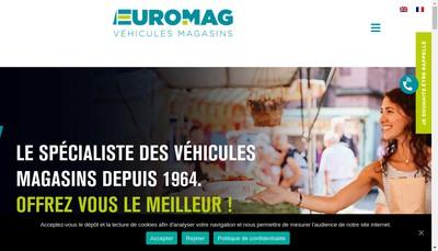 Site internet de Euromag