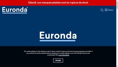 Site internet de Euronda France