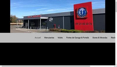 Site internet de Europ Fermetures