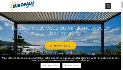 Site internet de Europalu
