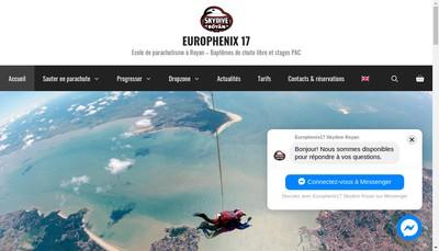 Site internet de Europhenix 17