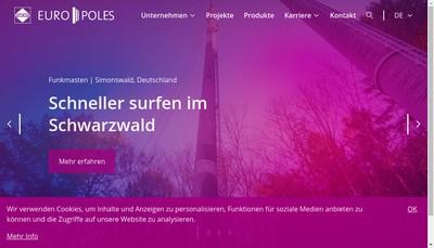 Site internet de Europoles
