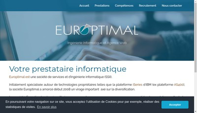 Site internet de Europtimal