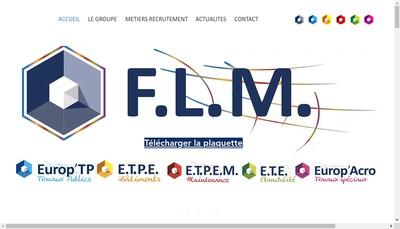 Site internet de Europ'Tp