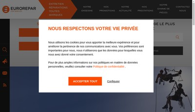 Site internet de EURL Louis