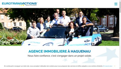 Site internet de Agence Immobiliere Eurotransactions
