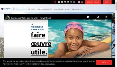 Site internet de Asphaltex Nord