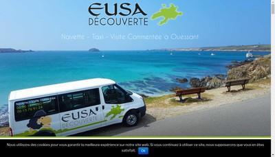 Site internet de Eusa Decouverte