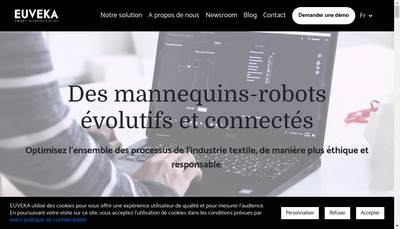 Site internet de Euveka