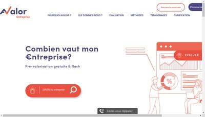 Site internet de Avalor