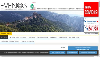 Site internet de Meca Mika France