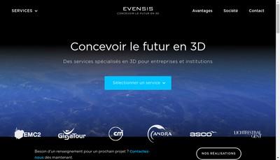 Site internet de Evensis