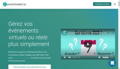 Site internet de Eventmaker