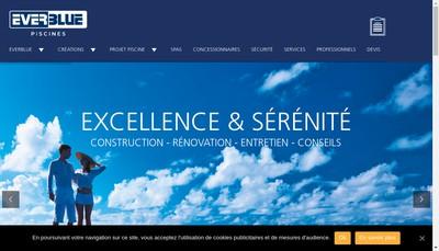 Site internet de Everblue