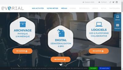 Site internet de Everial