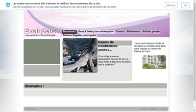 Site internet de Patrick Gallety