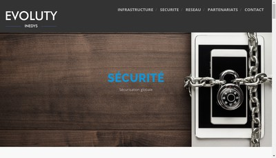 Site internet de Evoluty Inedys Group