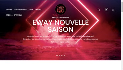 Site internet de E-Way