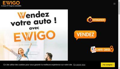 Site internet de Lx Automobile