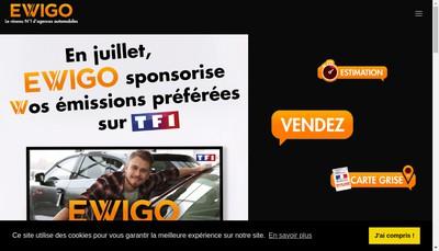 Site internet de Ewigo Cannes