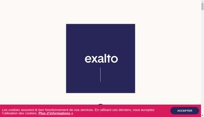 Site internet de Exalto