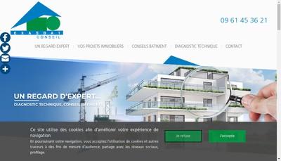Site internet de Exasbat Conseil