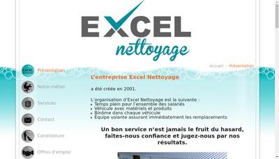 Site internet de Excel Nettoyage