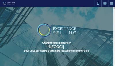 Site internet de Excellence Selling