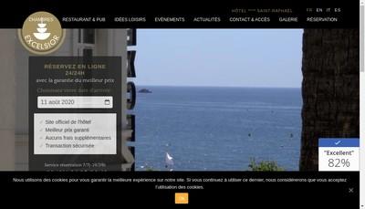 Site internet de SA Hotel Excelsior