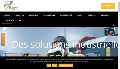 Site internet de Excent