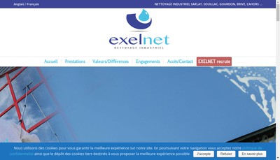Site internet de Exelnet
