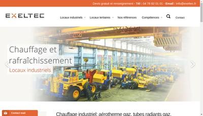 Site internet de Exeltec
