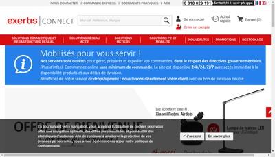 Site internet de La Connexion Apprivoisee