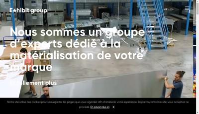 Site internet de Exhibit Photolabor