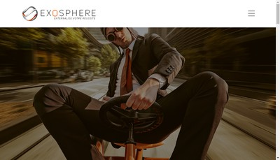 Site internet de Exosphere