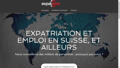 Site internet de Expatwire