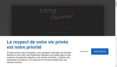 Site internet de Expert'Cycle