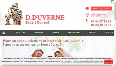 Site internet de Didier Duverne